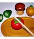 ست چوبی سبزیجات Plan toys