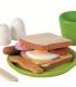 ست چوبی صبحانه Plan toys