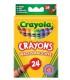 مداد شمعی قابل شستشو 24 تایی Crayola
