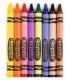 مداد شمعی 8 تایی قابل شستشو Crayola
