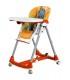 صندلی غذای کودک Diner نارنجی با طرح اسب آبی برند Peg-Perego