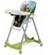 صندلی غذای کودک Diner آبی سبز طرح مزرعه برند Peg-Perego