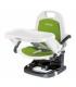 صندلی غذای قابل حمل Rialto رنگ سبز برند Peg Perego