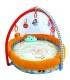 تخت و تشک بازی پشه بند دار برند Qtot