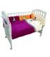 ست شش تکه تخت کودک برند Qtot