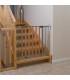 گارد در و پله استیل/چوب (75 - 81 cm) برند Hauck