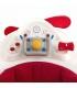 روروئک موزیکال طرح هواپیما رنگ قرمز و سفید برند Jane