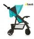 کالسکه چهار چرخ مدل (Shopper Comfortfold (Black/Aqua برند Hauck