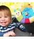 آویز هشدار کودک در ماشین حلزون خندان برند Little Bird Told Me