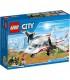 اسباب بازی ساختنی هواپیمای امداد برند Lego