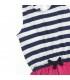 پیراهن دخترانه طرح ملوانی برند Wonder Kids