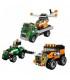 اسباب بازی ساختنی 3 در 1 تریلر حمل هلیکوپتر سری Creator برند Lego