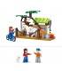اسباب بازی ساختنی مدل مزرعه برند Sluban