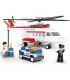 اسباب بازی ساختنی مدل هلیکوپتر شخصی برند Sluban