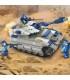 اسباب بازی ساختنی مدل تانک برند Sluban