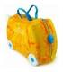 چمدان 3 کاره طرح دایناسور زرد برند Trunki