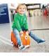 چمدان 3 کاره طرح ببر نارنجی برند Trunki
