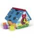 اسباب بازی آموزشی خانه پازلی طرح شهر برند Oops