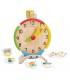 ساعت آموزشی چوبی برند Plan Toys