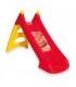 سرسره قرمز و زرد استاپ دار با قابليت اتصال شلنگ Smoby