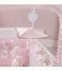 آویز تخت خرسی صورتی پیچی Picci Carousel with Music Box Pink Nanny