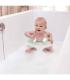 صندلی حمام کودک رنگ صورتی برند ب ب ژو Bebejou Bath Ring