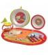 ست ظرف غذا ۸ تکه طرح موش با بسته بندی عروسکی Jané