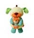 عروسک آویزی خرس مادر و بچه پولیشی موزیکال Infantino