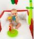 آويز تخت سبز با قابلیت جداشدن صفحه موزیکال BabyMoov