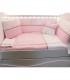 ست ملافه تخت کودک Aybi Babyar Juju-Pink