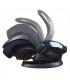 صندلی خودرو نوزاد/ کریر مدل izi Sleep رنگ ارغوانی خاکستری برند Besafe