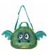 کیف دستی و رودوشی بچگانه طرح اژدهای سبز برند Okiedog