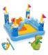 استخر بادی سرسره دار کودک با طرح قلعه برند Intex