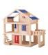 خانه عروسکی چوبی تراس دار برند Plan Toys