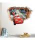استیکر دیواری با طرح کارتون ماشین ها Zhivar