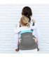 آغوشی کودک داینامیک رنگ طوسی فیروزه ای برند Minimonkey