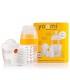 ست شیشه شیر طلقی 240 میل به همراه گرم کننده و محافظ برند Yoomi
