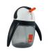 لیوان آبمیوه خوری نی دار 240 میل 360 درجه مدل پنگوئن رنگ خاکستری برند Umee