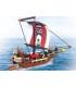 اسباب بازی ساختنی کشتی دزدان دیایی اسلوبان Sluban Pirate Ship