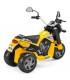 موتور سه چرخ دوگاتی زرد پگ پرگو Peg-Perego Scrambler Ducati