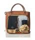 کیف لوازم مدل میرانو رنگ قهوه ای پاکاپاد Pacapod Mirano Tan