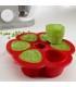 محفظه غذا 6 وعده ای ب آ با Béaba Multiportions™ 3oz Silicone Tray