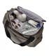 ساک لوازم مدل سیدنی 2 ب آ با رنگ خاکی Beaba Ge Changing bag Sydney 2