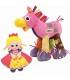 ست کادویی عروسک پولیشی اسب و پرنسس لمیز Lamaze Pretend and Play Princess and Pony Gift Set