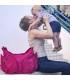 کیف مادر موندو اوکی داگ قرمز زرشکی Okiedog Mondo
