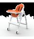 صندلی غذای کودک اوریبل رنگ نارنجی Oribel Cocoon High Chair Orange