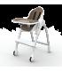 صندلی غذای کودک اوریبل رنگ قهوه ای Oribel Cocoon High Chair Almond
