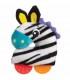 جغجغه پولیشی دندانگیر پلی گرو Playgro Toy-rattle Zebra