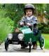 ماشین پدالی فلزی کلاسیک رنگ سبز باگرا Baghera Classic Green