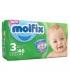 پوشک مولفیکس سایز 3 (46 عددی) Molfix